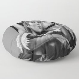 Women of the Night Floor Pillow