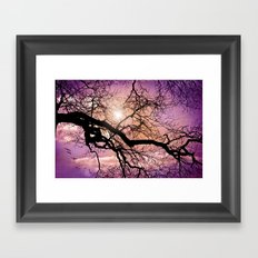 SILENT TREE Framed Art Print