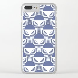 Abstract sea waves Clear iPhone Case