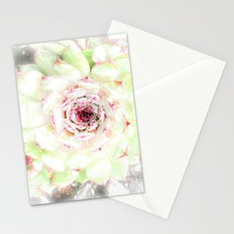 Dreaming Hens and Chicks Stationery Cards