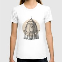 steam punk T-shirts featuring Steam punk rocket by Bakani