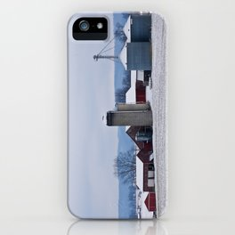 Winter's Farm iPhone Case