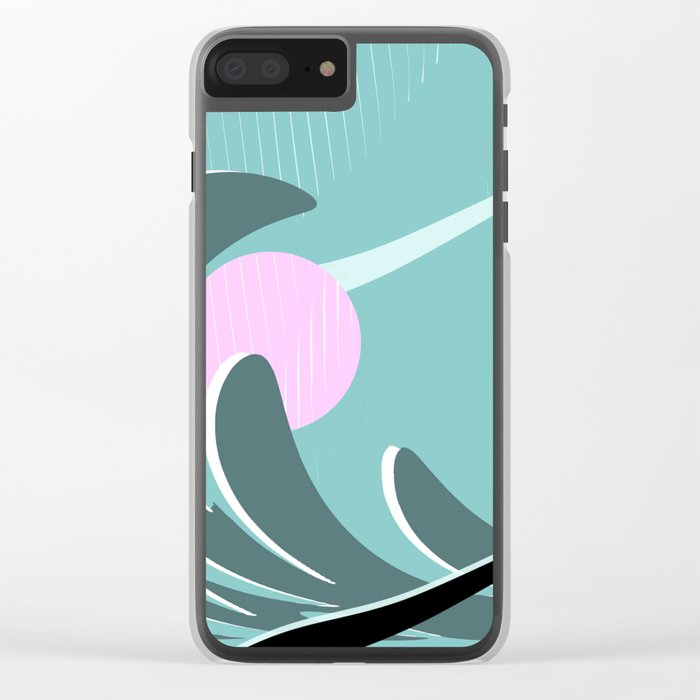 Abstract 2017 021 Clear iPhone Case