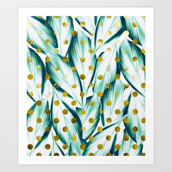 Naturally Coherent #society6 #decor #buyart Art Print
