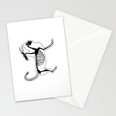 Chimera Skeleton Stationery Cards