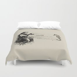 Vintage Mermaid Duvet Cover