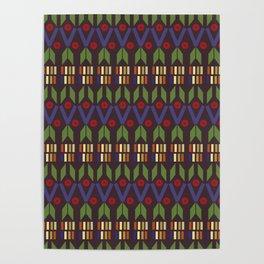 Aztec Print (Patterns Please) Poster