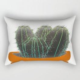 Cactus pot Rectangular Pillow