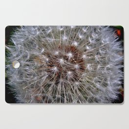 Dandelion Seeds Cutting Board
