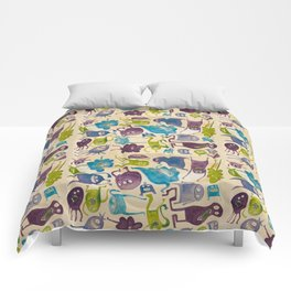 Critter pattern cool Comforters