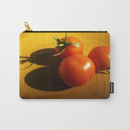 Abstract Tomato Carry-All Pouch