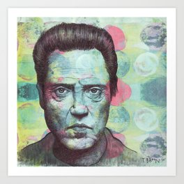 Christopher Walken - I Don't Need To Be Made To Look Evil. I Can Do That On My Own. Art Print