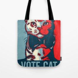 Vote Cat Tote Bag