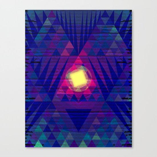 Intergalactic Sunrise Canvas Print