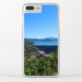 Shasta Lake View Clear iPhone Case