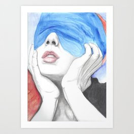 we are the widows Art Print