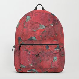 Rust, retro metal texture Backpack