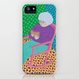 Lila iPhone Case