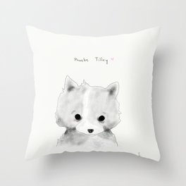 phoebe tilley Throw Pillow