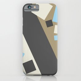 Color Extension Light Brown iPhone Case