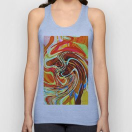 """"""" The beauty pleases eyes, the sweetness charms the art! """"  Unisex Tank Top"""