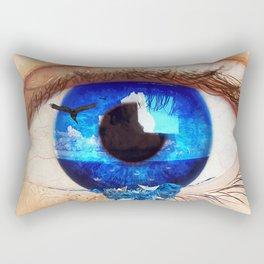 Yo fui tu Rectangular Pillow