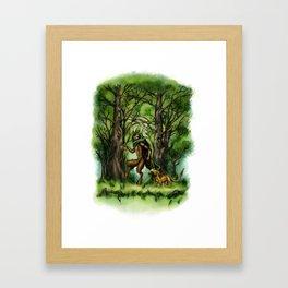 The Faun Framed Art Print