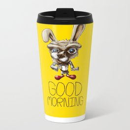 Good morning Metal Travel Mug