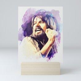 Bob Seger, Music Legend Mini Art Print