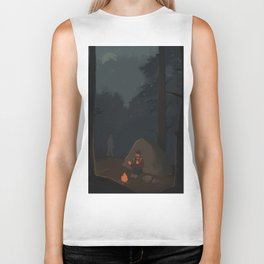 Fireflies (The Last of Us) Biker Tank