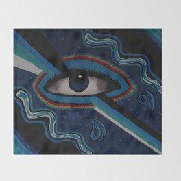Third Eye Vision Throw Blanket