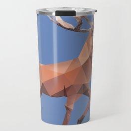Reindeer.  Travel Mug