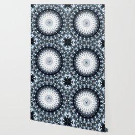 Magical winter fun mandala Wallpaper