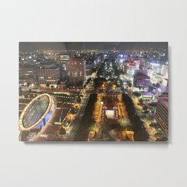 Nagoya City Metal Print