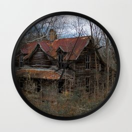 Abandoned Homestead Wall Clock