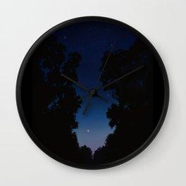 The Long Twilight Of Midsummer Nights Wall Clock
