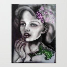 Mechanical Lady Canvas Print