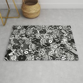 gothic lace Rug