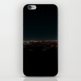 California Night Lights iPhone Skin