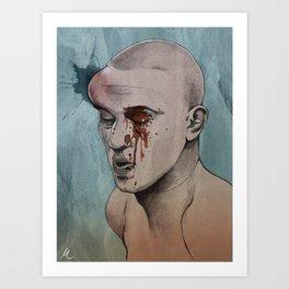 """Mark Hominick"" Art Print"