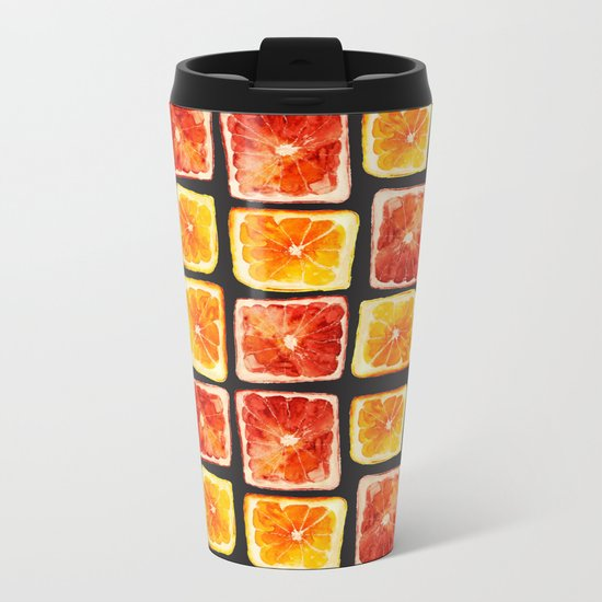 Squaring the circle Metal Travel Mug