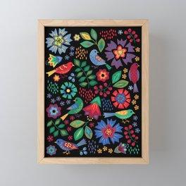 Songbirds Framed Mini Art Print