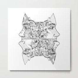 QUEENS Metal Print