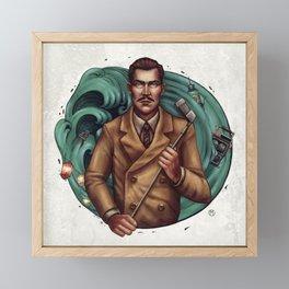 Andrew Ryan Illustration Framed Mini Art Print