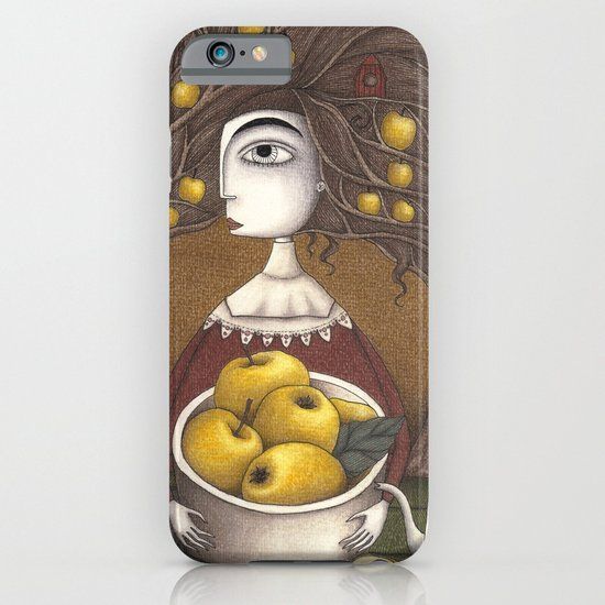 Portrait of an Apple Orchard iPhone & iPod Case