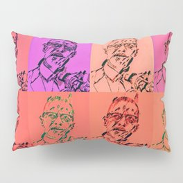 Malcolm Pop Art Pillow Sham