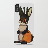 jackalope iPhone & iPod Cases featuring Jackalope by JoJo Seames