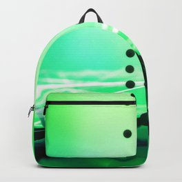 Green Abstract Passion Backpack