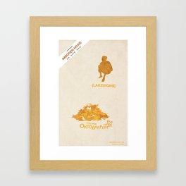 Lakesigns Poster - Oktoberfest 10-1-2011 Framed Art Print