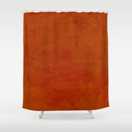 concrete orange brown copper plain texture Shower Curtain